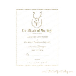 Wildlife Wedding Garb